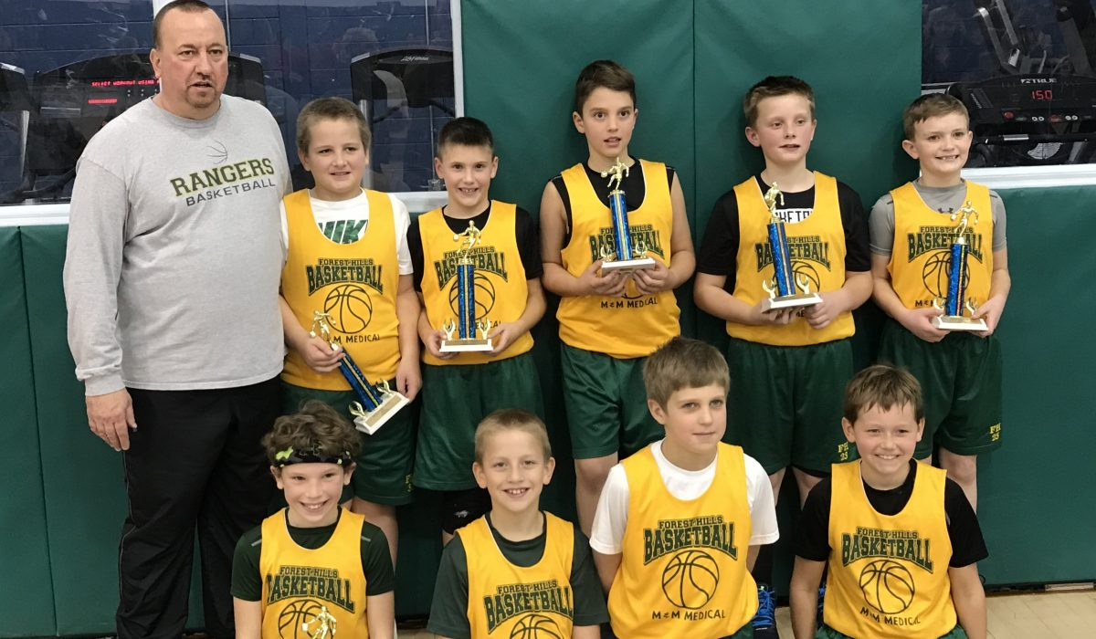 3rd & 4th Boys Fall 2017 1st Place – M&M Medical