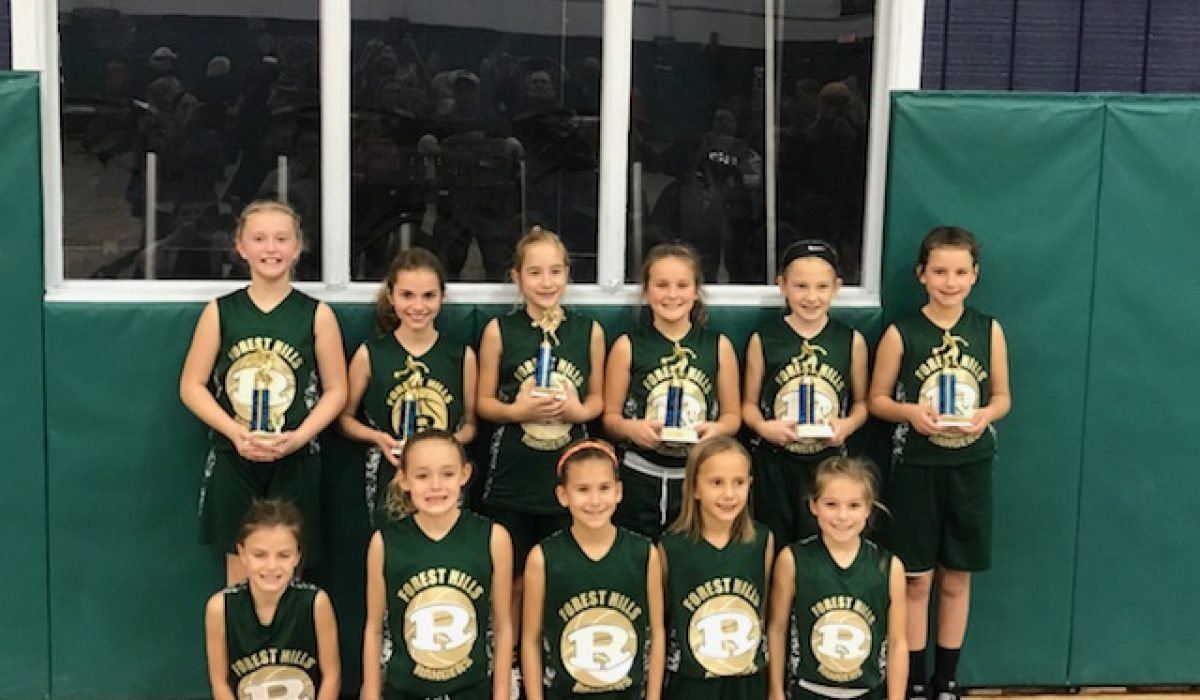 3rd & 4th Girls Fall 2017 2nd Place – Forest Hills Lady Rangers