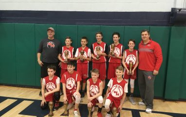Westmont Red 1st Place